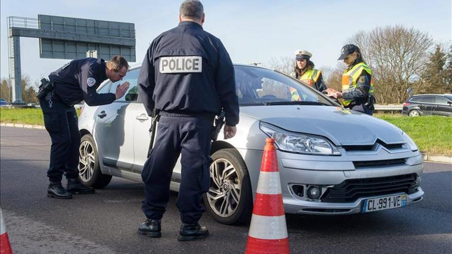 La Policía alemana refuerza la seguridad en la frontera con Francia