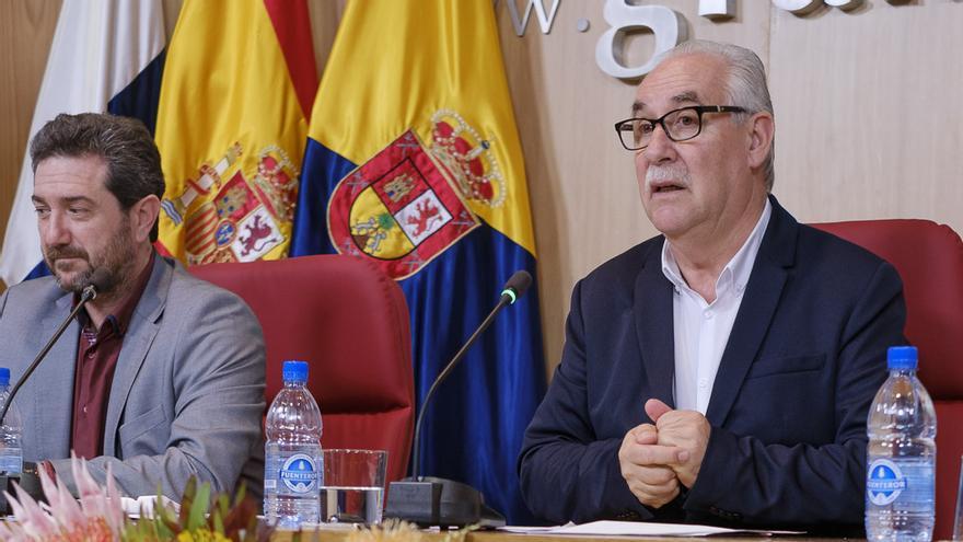 El consejero insular de Soberanía Alimentaria, Miguel Hidalgo.