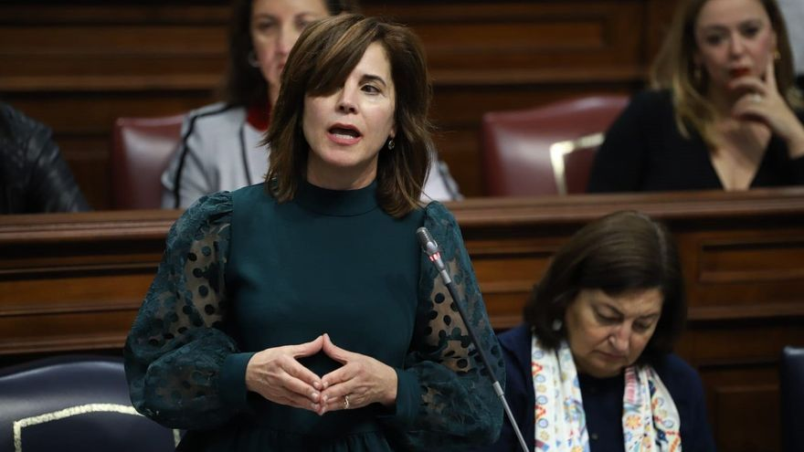 Teresa Cruz, consejera de Sanidad del Gobierno de Canarias destituida