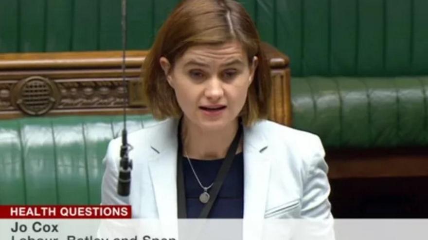 Jo Cox, diputada del partido laborista británico