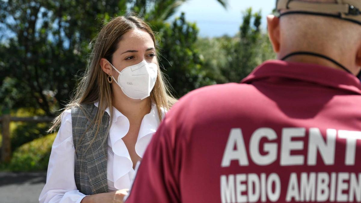 María Rodríguez Acosta, consejera de Medio Ambiente del Cabildo de La Palma.