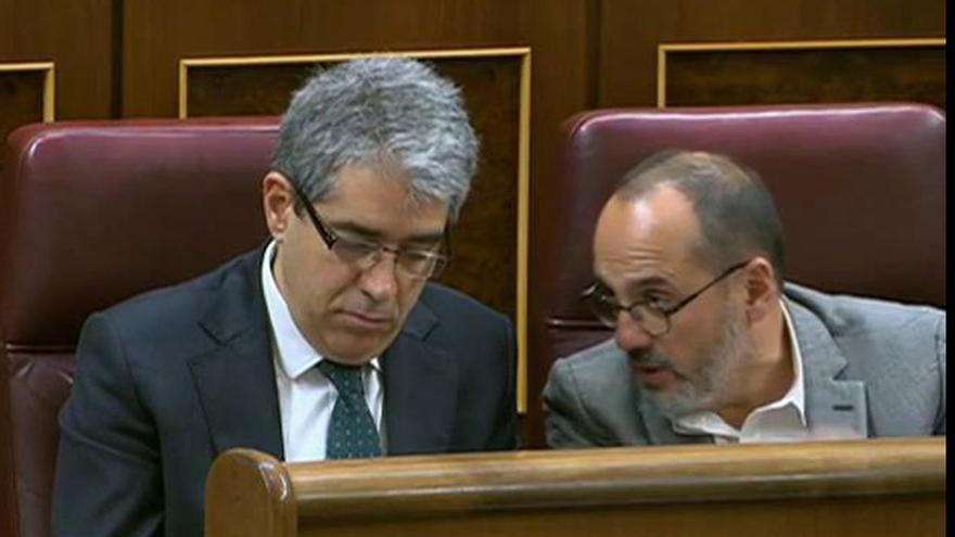 Ciudadanos se opondrá mañana a que CDC y PNV se definan como grupos catalán y vasco en el Congreso