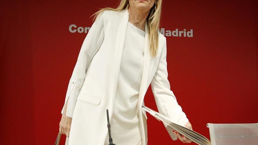 Cifuentes dice que la economía de Madrid crece al 3,4% interanual