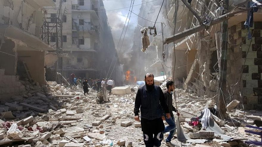 La ONU demanda una tregua humanitaria semanal en Alepo para ayudar a los civiles