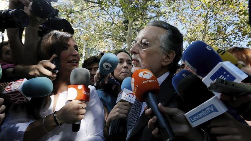 """Alfonso Grau expresa su """"sorpresa"""" y """"dolor"""" por el fallecimiento de Barberá"""