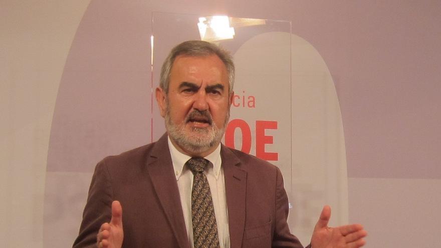 """PSOE elabora documento de propuestas porque Murcia está en """"situación de emergencia"""" y pide reunión con Valcárcel"""