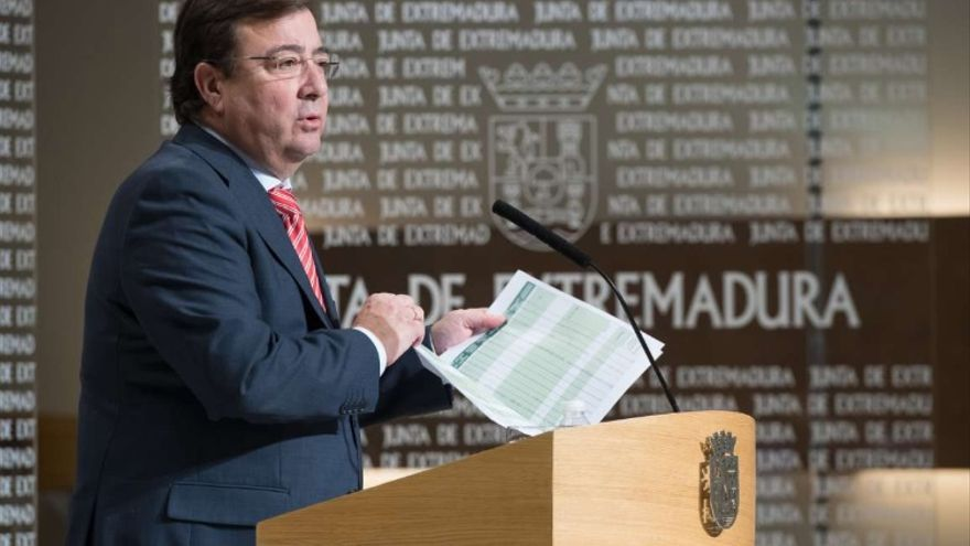 Fernández Vara apela a la unidad para hacer frente a la pandemia de coronavirus
