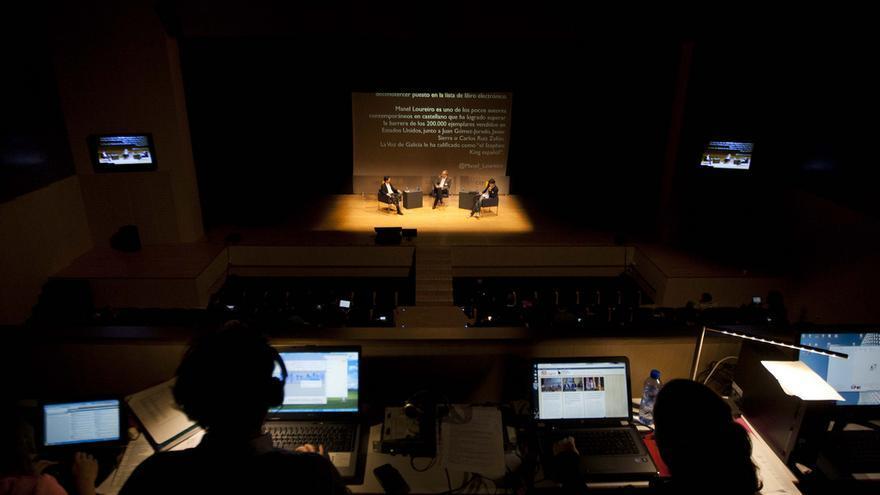 Primer Congreso del Libro Electrónico. Foto: Álvaro Calvo / @CongresoEbook