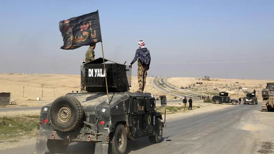 Las fuerzas iraquíes matan a 47 terroristas y avanzan en el oeste de Mosul