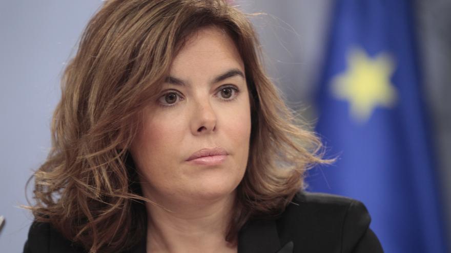 AV.Santamaría avisa a Mas de que el Gobierno hará cumplir la Ley si el Parlamento catalán aprueba crear un Estado propio