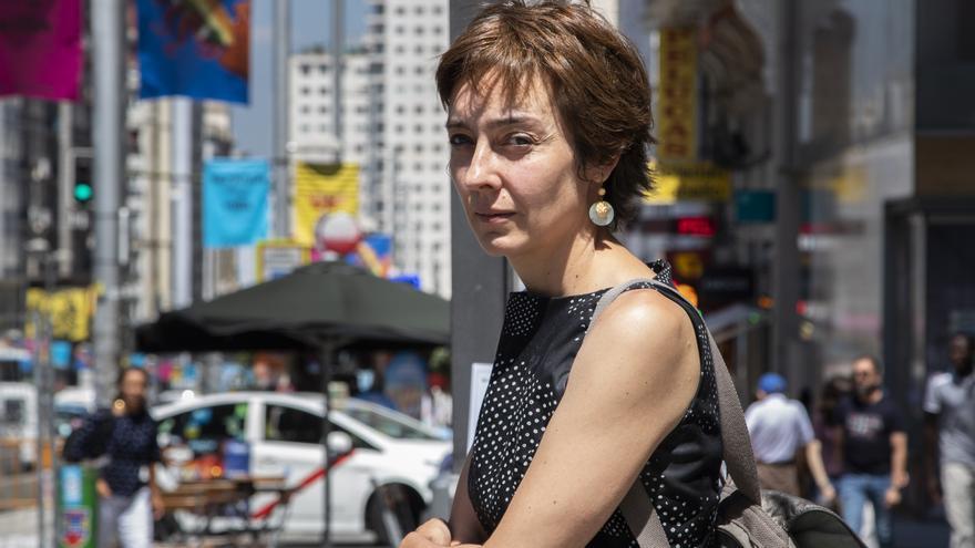 Elisa Rufino Núñez, opositora a las Escuelas Oficiales de Idiomas de la Comunidad de Madrid, en junio de 2018.