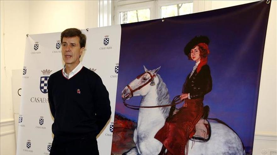 El retrato a caballo de la duquesa de Alba ilustra productos gastronómicos