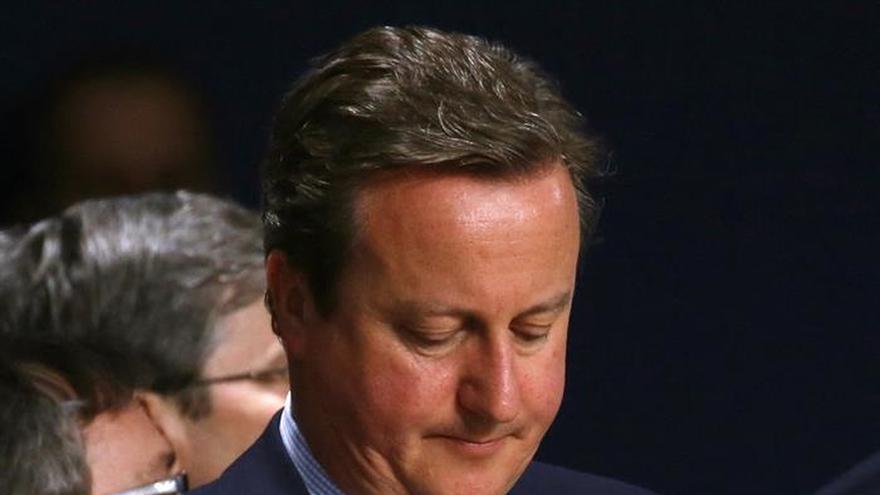 """David Cameron: """"Reino Unido no se alejará de Europa en materia de seguridad"""""""