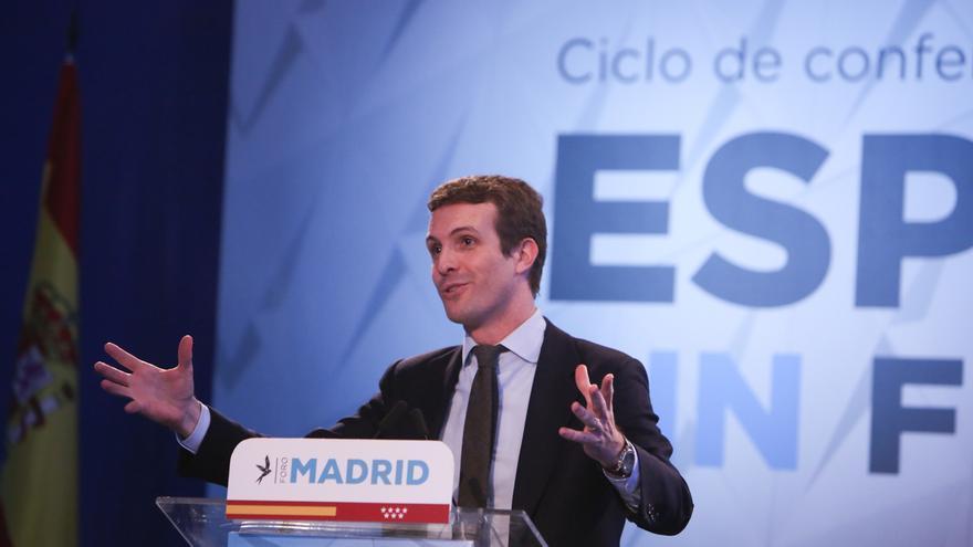 Casado presentará este domingo en Vitoria a los candidatos del PP vasco a las elecciones municipales y forales