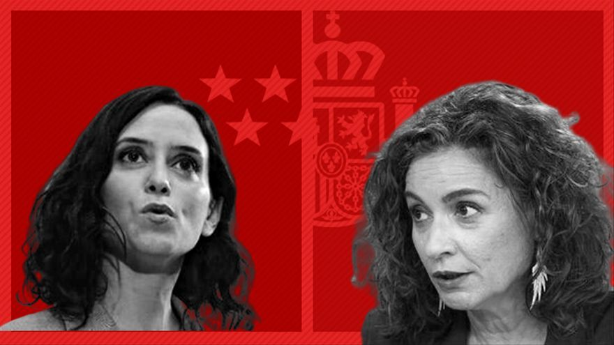 Isabel Ayuso, presidenta de la Comunidad de Madrid, y María Jesús Montero, ministra de Hacienda, han protagonizado un debate en medios sobre impuestos.