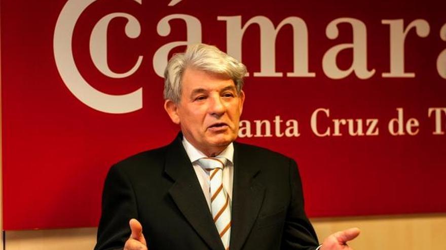 José Luis García Martínez, presidente de la Cámara de Comercio de Santa Cruz de Tenerife / Foto cedida
