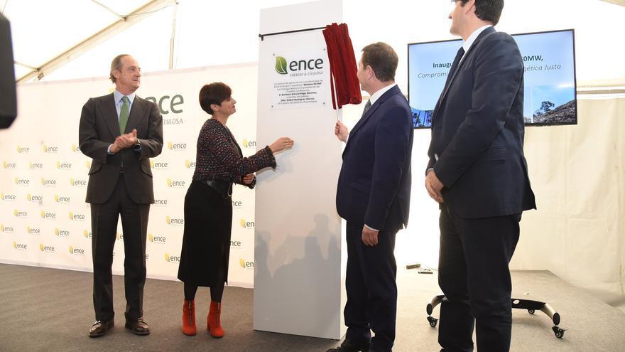 Inauguración de la nueva planta de biomasa de Ence en Puertollano