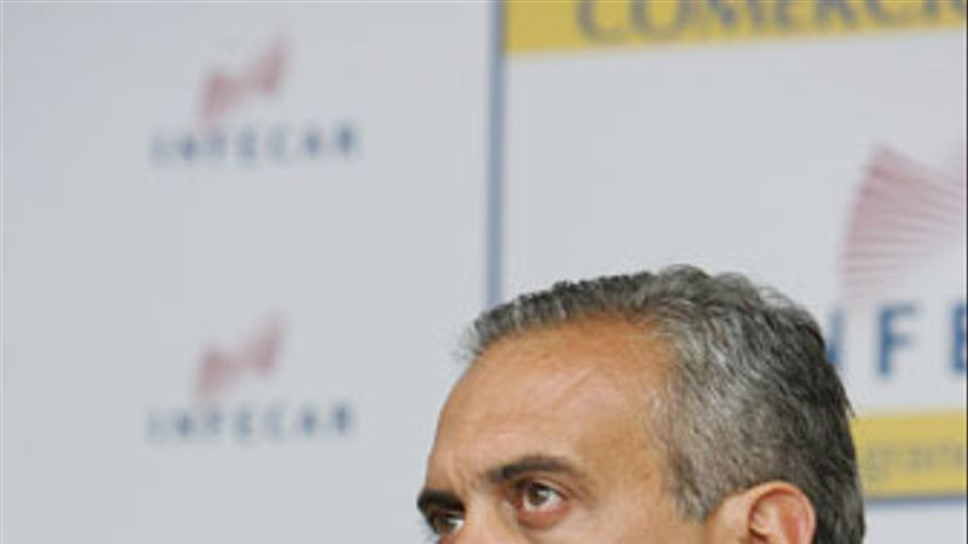 José Luis Saéz, presidente de la Federación Española de Baloncesto (FEB). (QUIQUE CURBELO)