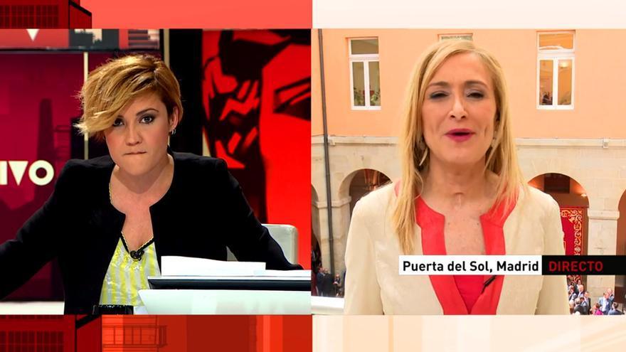 Cristina Pardo y Cifuentes en Al rojo vivo