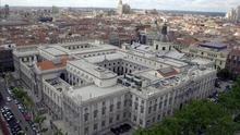 Vista aérea del Tribunal Supremo.