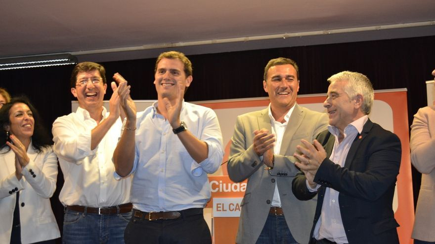 Albert Rivera participa este jueves en un acto público en Sevilla y el viernes inaugura la nueva sede regional