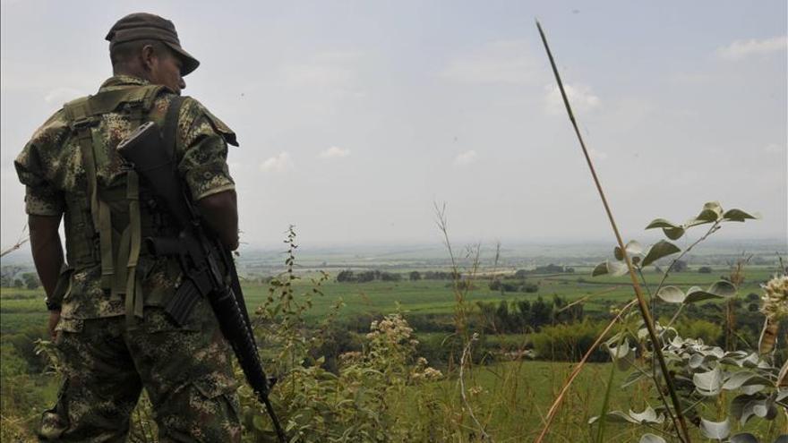 Las FARC entregan al CICR a un militar colombiano desaparecido desde hace tres días