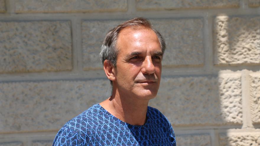 Albert Tió, el pasado miércoles en Barcelona.