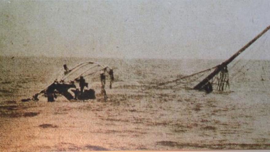 """El naufragio de los jóvenes canarios en """"el Titanic de los pobres"""""""