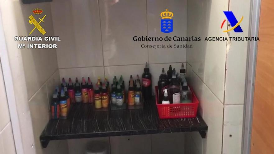 En la operación se han interviniendo cerca de 4.000 envases de tinta no autorizados.