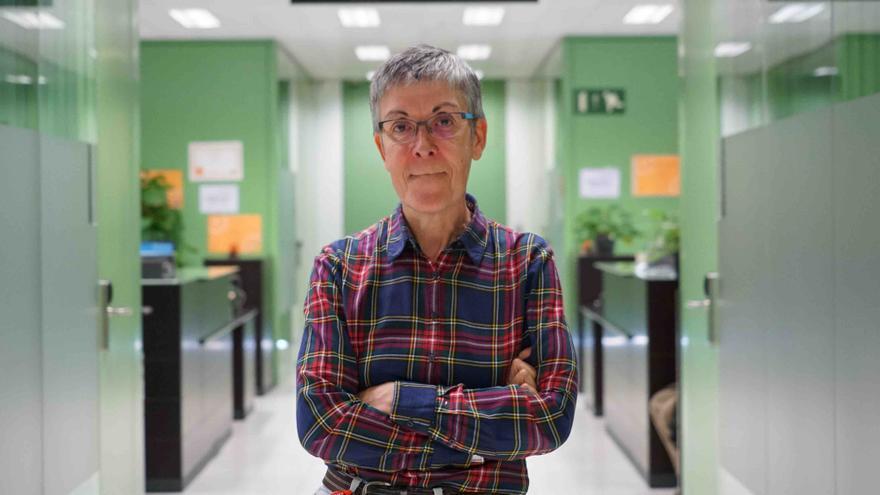 La magistrada Verdejo, en los juzgados de Barcelona