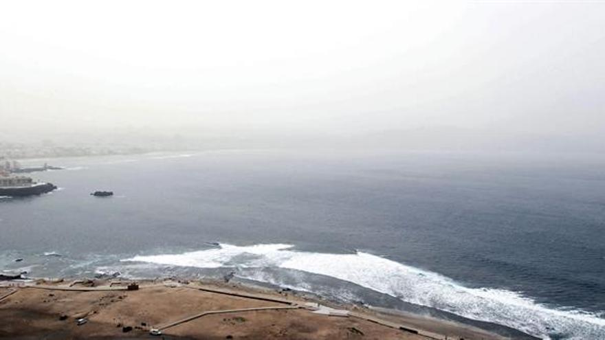 Foto Calima en Las Palmas de Gran Canaria. Foto: Elvira Urquijo