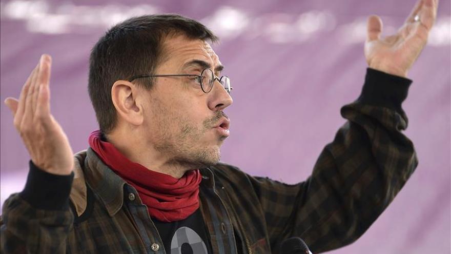 """Monedero: """"Todas las razones que llevaron a nacer a Podemos siguen vigentes"""""""