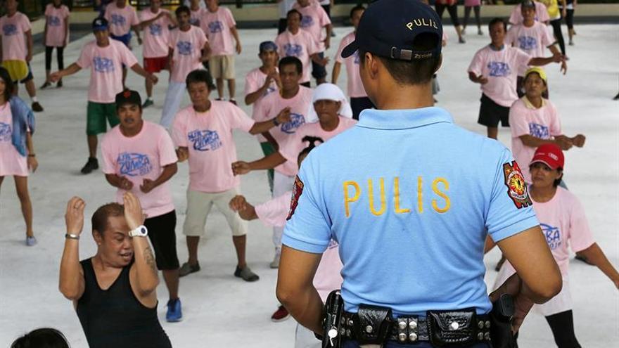 Clases de zumba, la propuesta de Filipinas para desenganchar a los drogadictos
