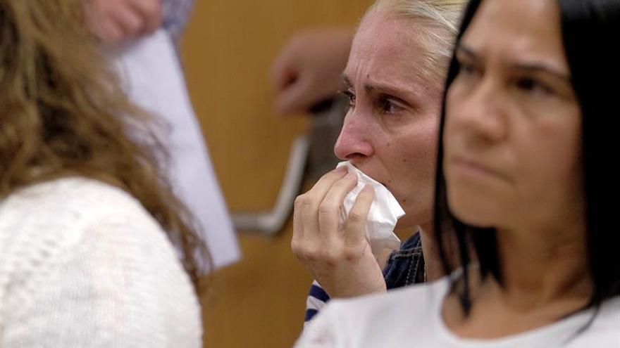 La madre de Yeremi Vargas atiende la declaración de Juan 'El Rubio' por la presunta agresión sexual que sufrió en 2012 un niño de nueve años en la localidad de El Doctoral