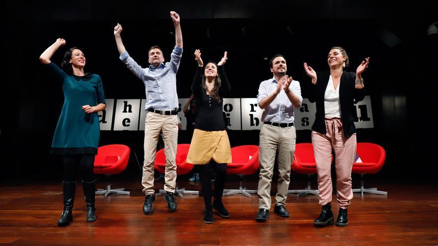 """Garzón ve privatizar como una forma """"legal"""" de corrupción y pone el modelo de Unidas Podemos como alternativa"""