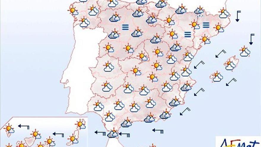 Hoy, viento fuerte en Estrecho y posibles precipitaciones en los Pirineos