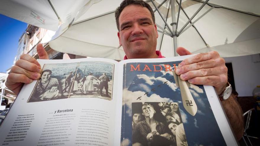 El historiador Moisés Domínguez
