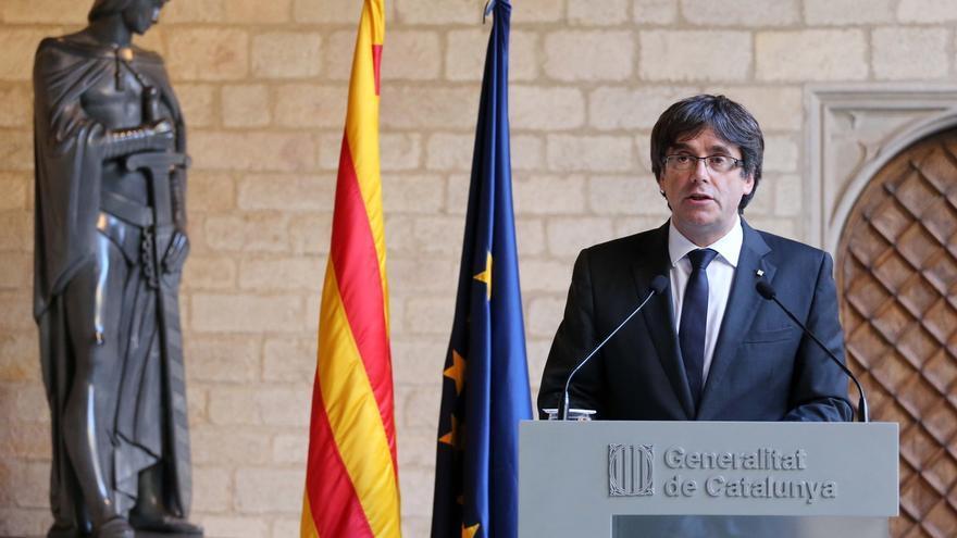 """Puigdemont lamenta que el Estado es """"una máquina de humillar"""" tras renunciar al sueldo de expresidente"""