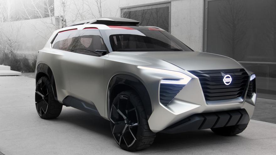 El prototipo Nissan Xmotion adelanta el nuevo lenguaje de diseño de la marca.