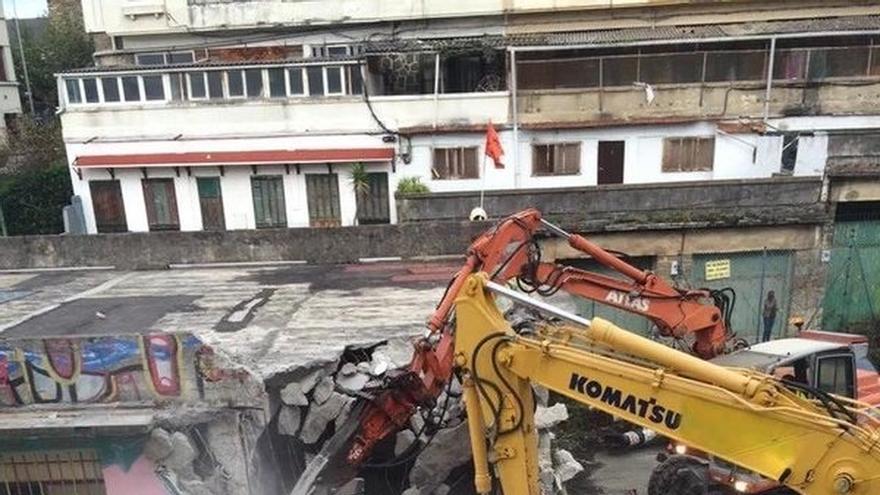Ayuntamiento de San Sebastián insiste en que el derribo de Kortxoenea obedece a una decisión del dueño del edificio