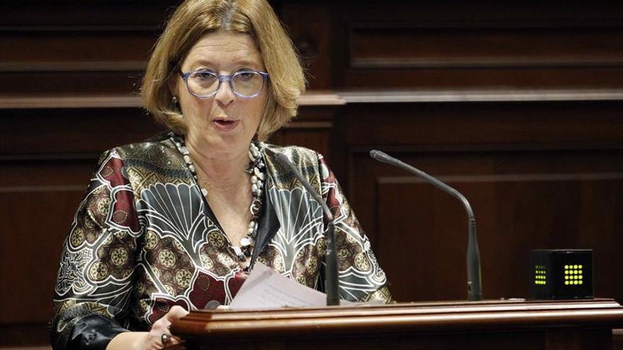 La diputada del grupo Popular Josefa Luzardo