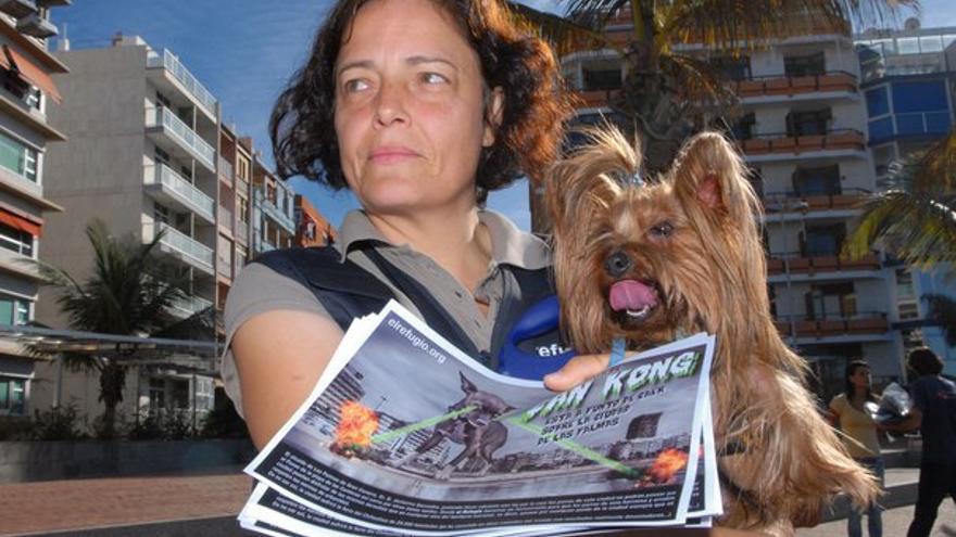 De la protesta en Las Canteras #5
