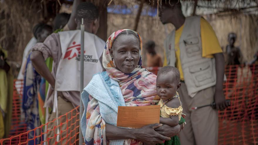 Vacunación en Yida, Sudán del Sur. Foto 12 © Yann Libessart/MSF