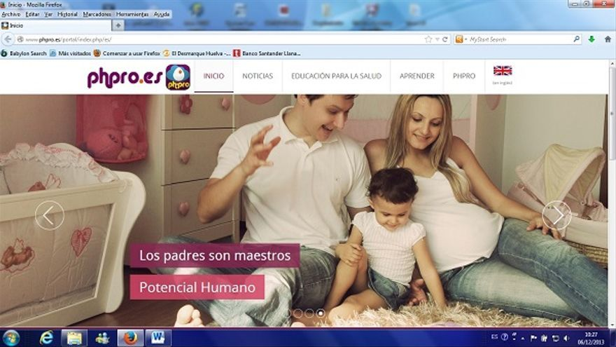 Una imagen de la plataforma digital creada por Juan Antonio Bardallo y Diego Gómez.