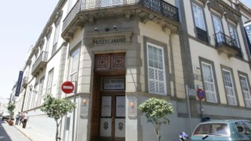 Fachada del Museo Canario. (CANARIAS AHORA)