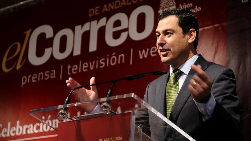 """Moreno es partidario de un pacto con el PSOE para evitar que gobierne """"Podemos"""""""