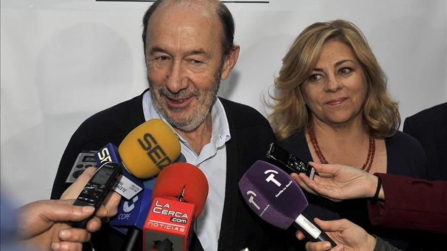 """Rubalcaba: el PSOE quiere situar a la igualdad en el """"corazón de la política"""""""