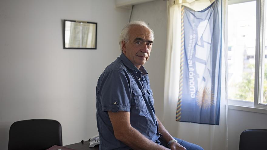 Ricardo Peidro, secretario general de la CTA Autónoma.