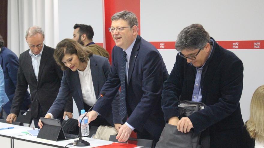 La Ejecutiva del PSPV acuerda negociar con Compromís y Podemos un 'Acord Valencià' para el Senado