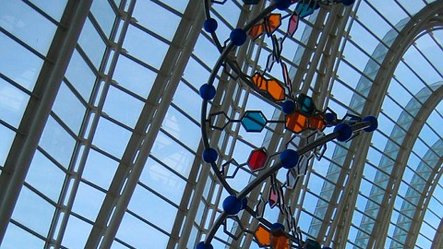 Representación de la doble hélice de ADN (Foto: Pixabay)